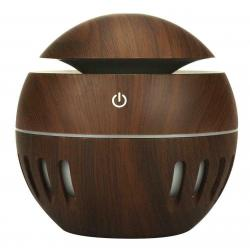 Wood Grain USB Diffuser Aroma Essential Oil Ultrasonic Air Humidifier Purifier